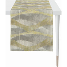 APELT Loft Style Läufer modern aufgefasste Flächen und Sturkturen beige 44x140 cm