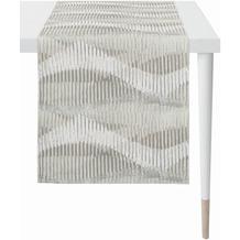 APELT Loft Style Läufer modern aufgefasste Flächen und Sturkturen grau 44x140 cm