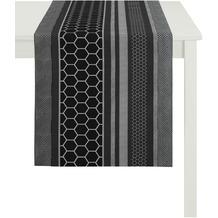 APELT Loft Style Läufer schwarz 44x140