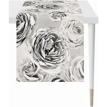 APELT Loft Style Läufer schwarz/weiß 48x140 cm
