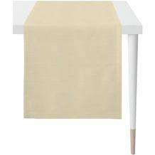 APELT Loft Style Läufer Uni beige 48x145 cm