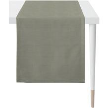 APELT Loft Style Läufer Uni grau 48x145 cm