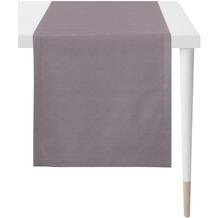 APELT Loft Style Läufer Uni Rips lila/altrose 44x140 cm