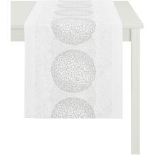 APELT Loft Style Läufer weiß/silber 48x140