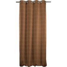 APELT Loft Style Ösenschal braun dunkel 135x245