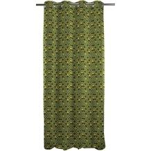 APELT Loft Style Ösenschal grün 140x245
