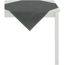 APELT Loft Style Tischdecke blau/kupfer 85x85, Linienmuster