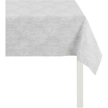 APELT Loft Style Tischdecke hellgrau 85x85, Stoffmuster