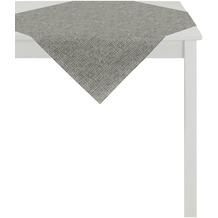 APELT Loft Style Tischdecke schwarz 85x85, Schuppenmuster