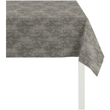 APELT Loft Style Tischdecke schwarz 85x85, Stoffmuster