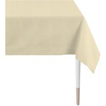 APELT Loft Style Tischdecke Uni beige 100x100 cm