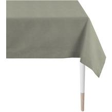 APELT Loft Style Tischdecke Uni grau 100x100 cm