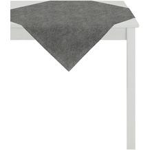 APELT Loft Style Tischdecke schwarz 85x85, Linienmuster