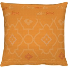 APELT Lyrics Easy elegant Kissenhülle orange 49 cm x 49 cm