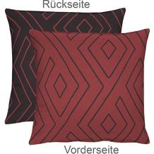 APELT Mistral Easy elegance Kissenhülle rot 46 cm x 46 cm
