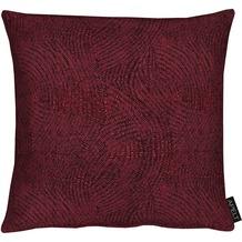 APELT Modern Luxury Kissen bordeaux 39x39 cm