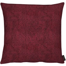 APELT Modern Luxury Kissen bordeaux 48x48 cm