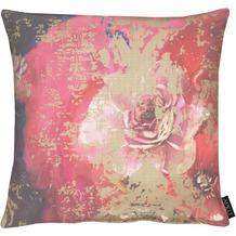 APELT Modern Luxury Kissenhülle rot / bordeaux 46x46 cm