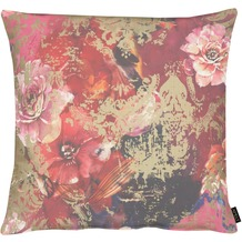 APELT Modern Luxury Kissenhülle rot / bordeaux 66x66 cm