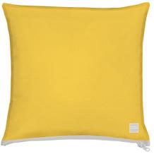 APELT Outdoor Kissen gelb, schlicht 39x39 cm