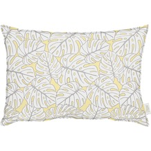 APELT OUTDOOR Kissen gelb 40x60, Pflanzenmuster