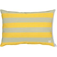 APELT Outdoor Kissenhülle gelb/stein 41x61 cm