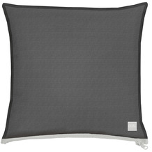 APELT Outdoor Kissenhülle schwarz 40x40 cm