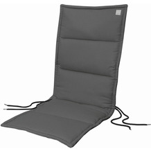 APELT Outdoor Sitzauflage schwarz 50x120 cm