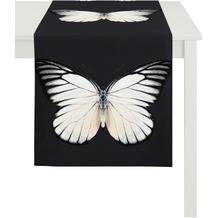 APELT Papillon Unique schwarz-weiß 45 cm x 135 cm