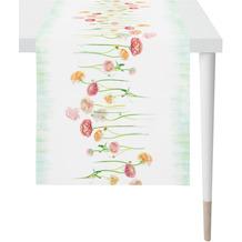 APELT Springtime Läufer weiß/bunt 45x135 cm