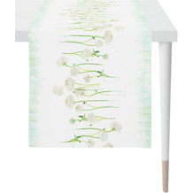 APELT Springtime Läufer weiß/grün 45x135 cm