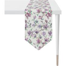 APELT Springtime Tischband breit flieder/ lila 32x175 cm