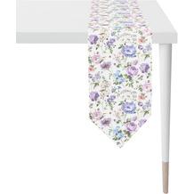 APELT Springtime Tischband mauve 25x175 cm
