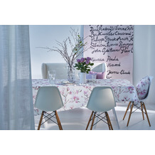 APELT Springtime Tischdecke rosa / fliefer 100x100 cm