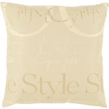 APELT Style Easy Elegance Kissenhülle beige 49 cm x 49 cm