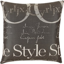 APELT Style Easy Elegance Kissenhülle schwarz-weiß 49 cm x 49 cm
