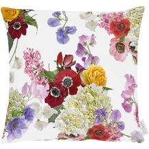APELT Summer Garden Kissenhülle bunt / multi, Blumen 40x40 cm