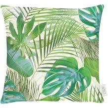 APELT Summer Garden Kissenhülle grün 40x40, Pflanzen