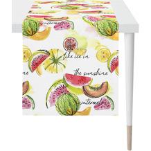 APELT Summer Garden Läufer bunt / multi 48x140 cm, Früchte