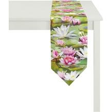 APELT Summer Garden Tischband grün 25x175