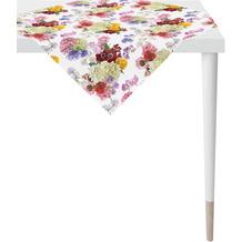 APELT Summer Garden Tischdecke bunt / multi, Blumen 100x100 cm