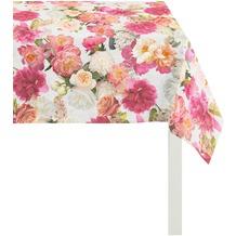 APELT Summer Garden Tischdecke rose 100x100