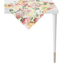 APELT Summer Garden Tischdecke rose / gelb 85x85 cm
