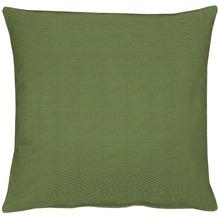 APELT Torino Basic Kissenhülle grün 40 cm x 40 cm