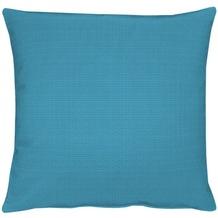 APELT Uni-Basic Kissen blaugrün 39x39