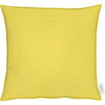 APELT Uni-Basic Kissen gelb 39x39
