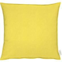 APELT Uni-Basic Kissen gelb 48x48