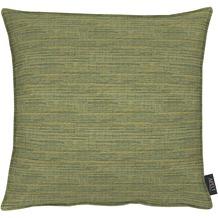 APELT Uni-Basic Kissen grün 45x45, gestreift