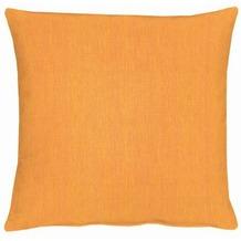 APELT Uni-Basic Kissen orange 48x48