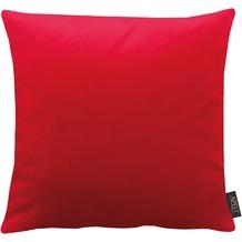 APELT Uni-Basic Kissen rot 45x45